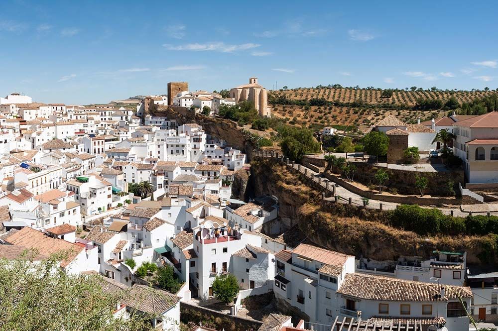Sensational Setenil, Edible Bike Tours, Pueblo Blanco, spain