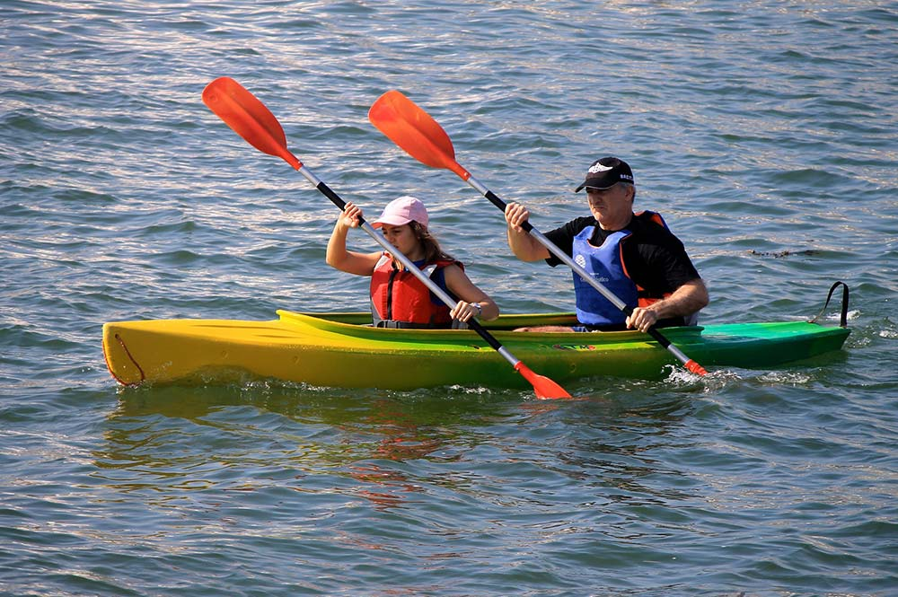 Kayaking on Lake Zahara, Wine and Tapas with the locals and Lake Zahara, Edible Bike Tours