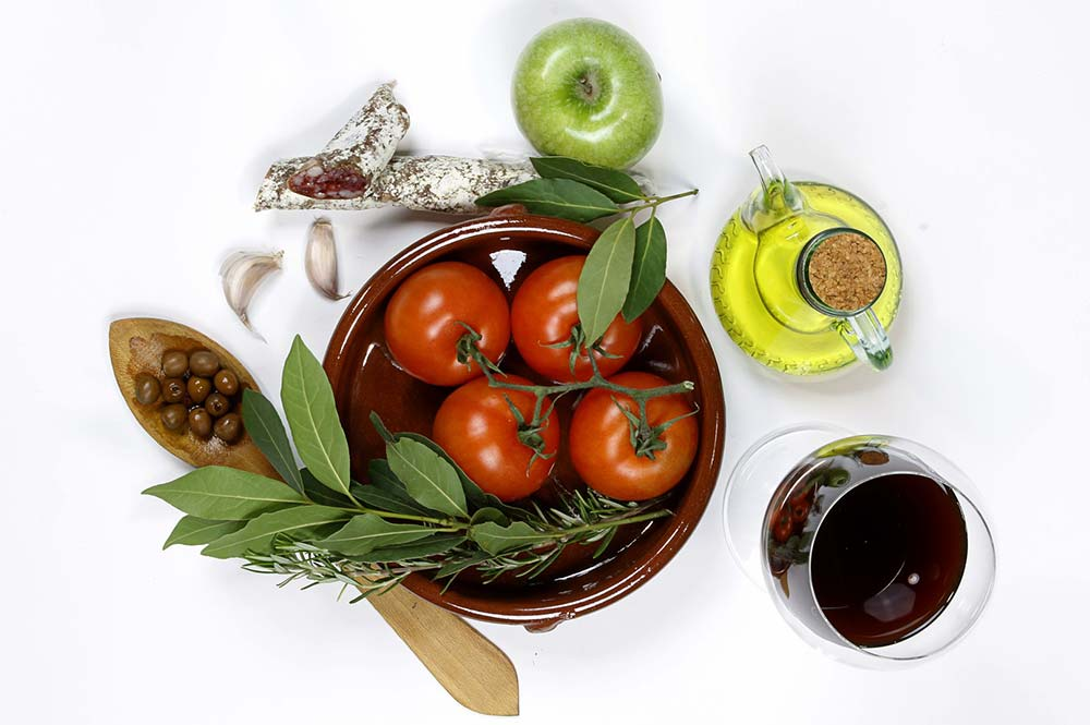Tomatoes with olive oil and balsamic, Wine and Tapas with the locals, Edible Bike Tours by ebike, Spain