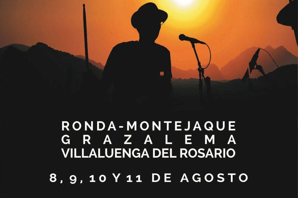 Pueblos Blancos Music Festival, August 2019